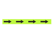 1″ X 48″ Perimeter Demarcation Lines with Arrows