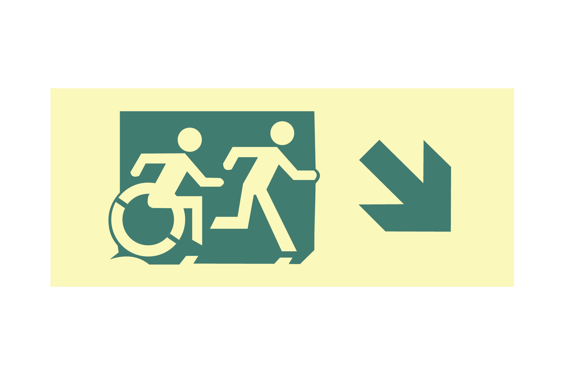 Accessible Signage Initiative Sign