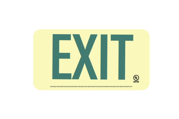 Ultra 50 Exit Sign