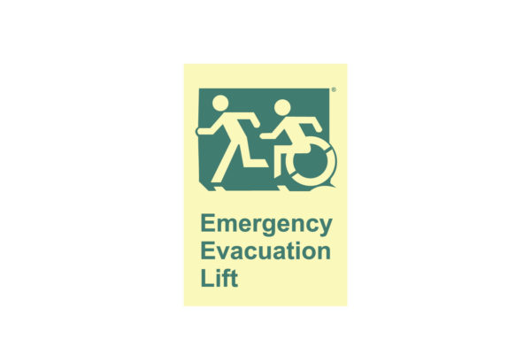 8″ x 10″ Public & Handicapped Emergency Evacuation Lift