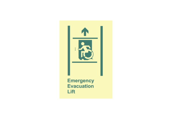 8″ x 10″ Handicapped Emergency Evacuation Lift