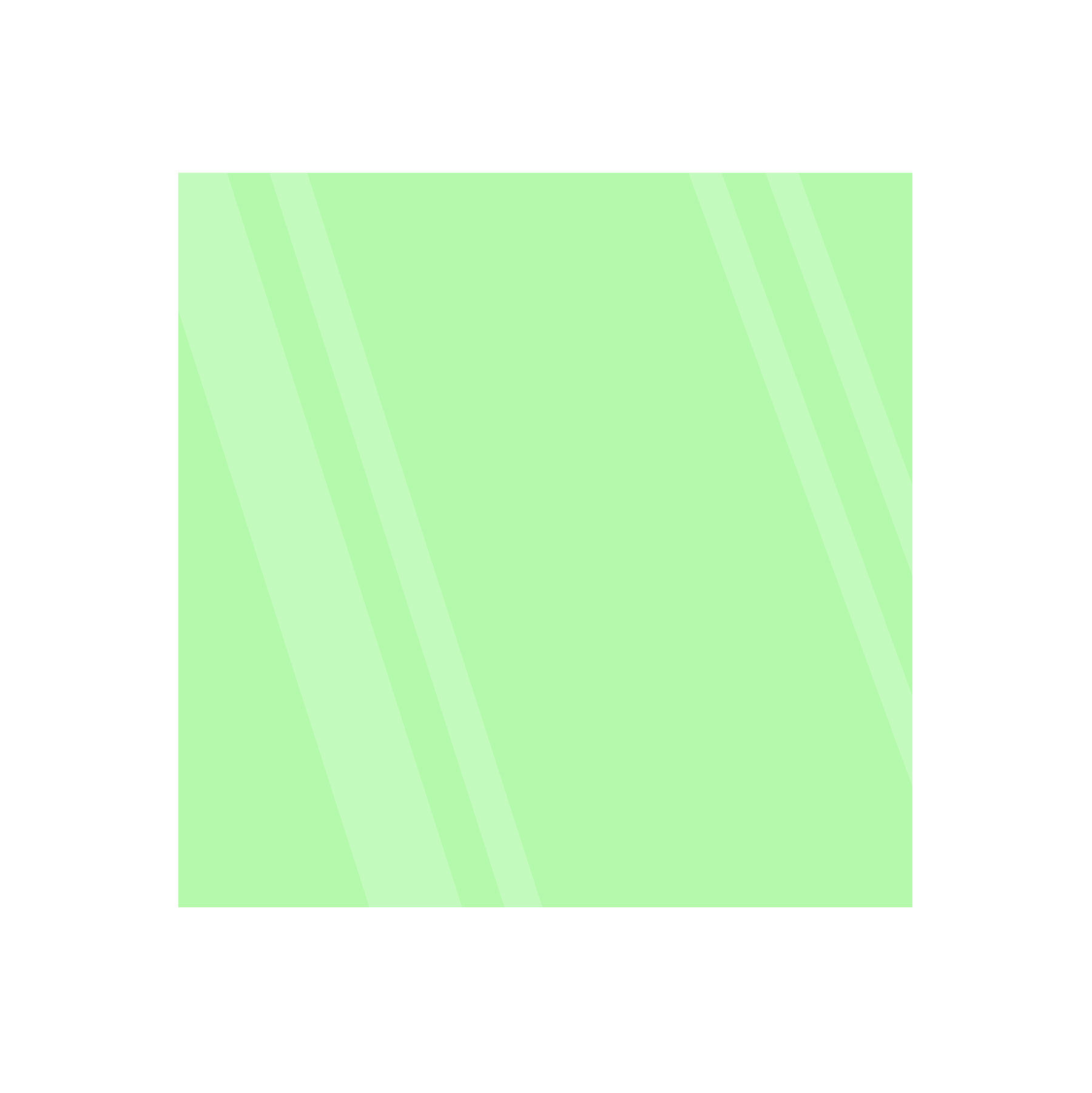 Green 6x6 Glowing Glass Tile Image