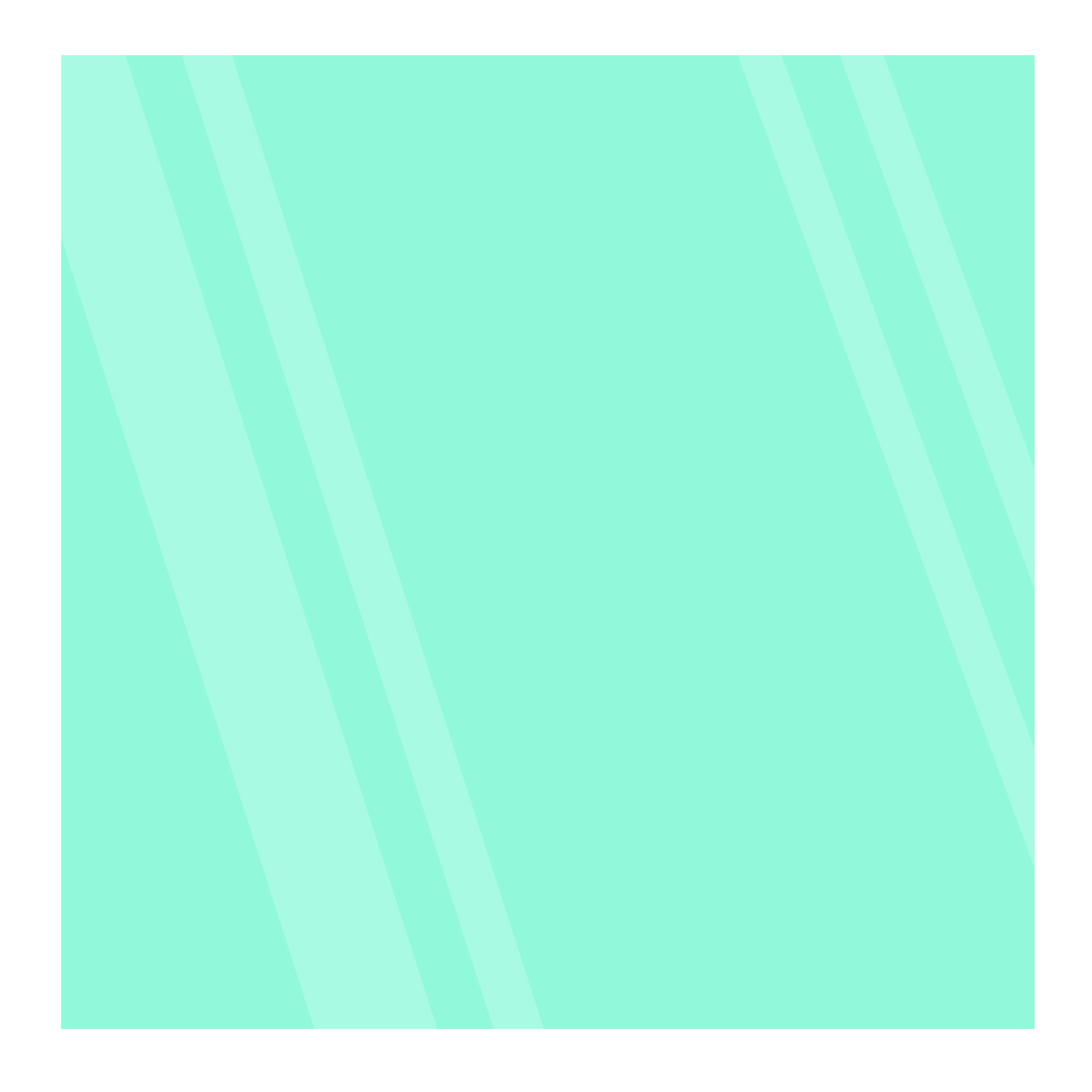 Aqua 8x8 Glowing Glass Tile Image