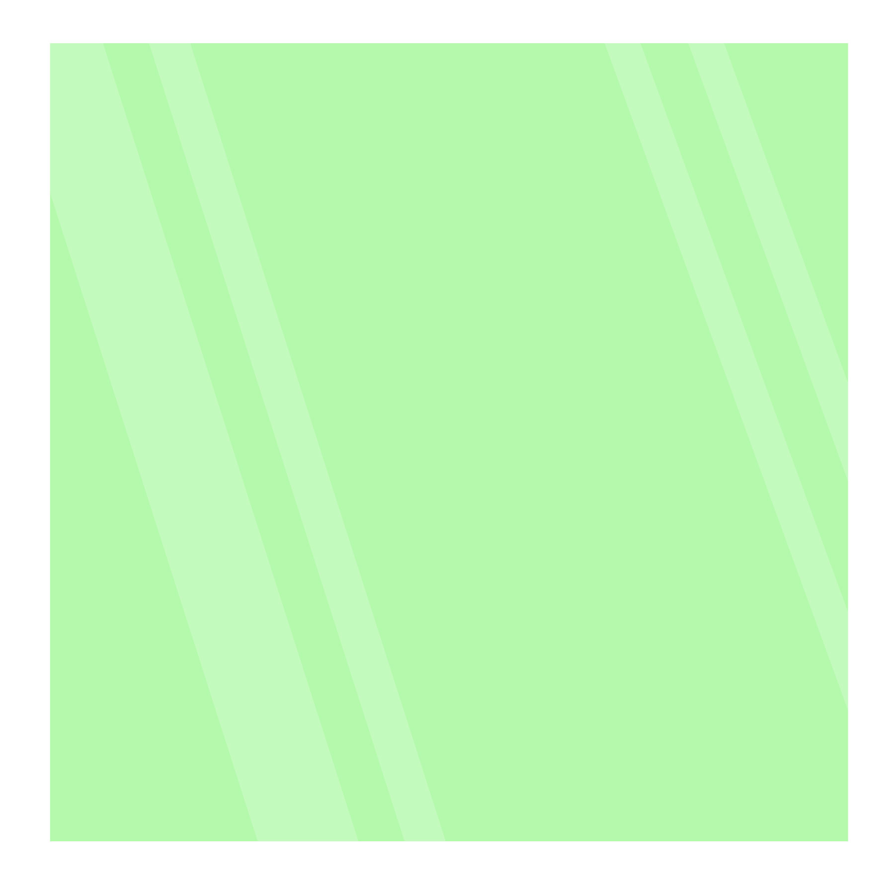Green 8x8 Glowing Glass Tile Image