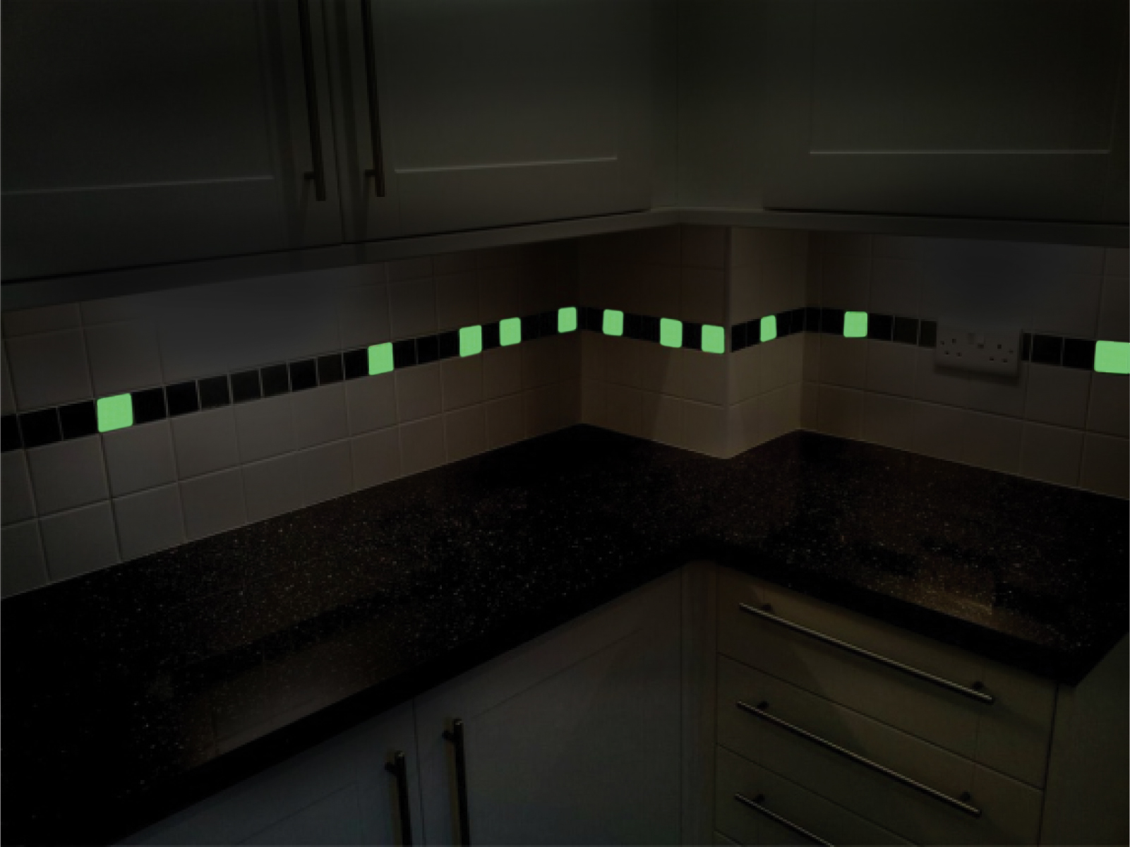 Glowing Glass Tiles