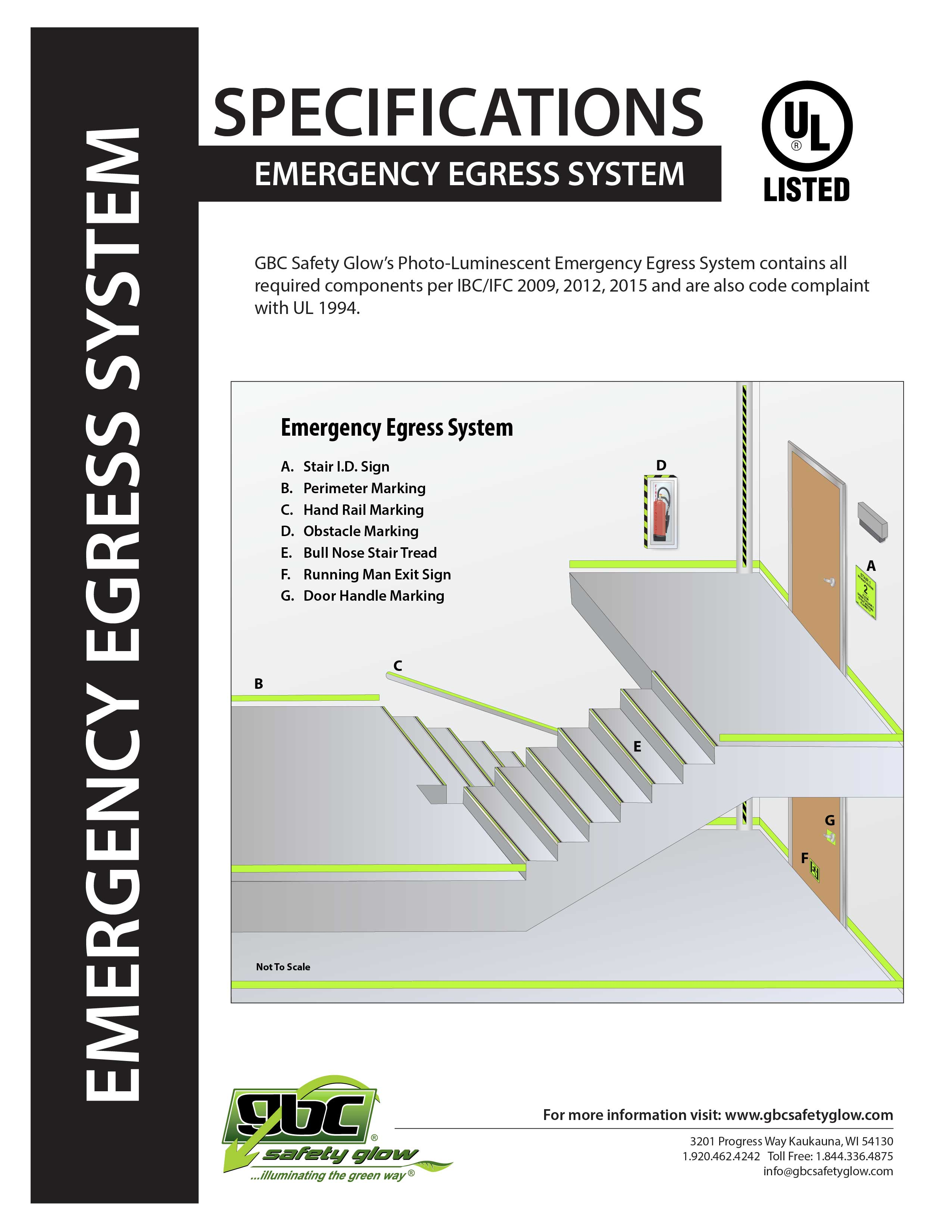 Emergency Egress System Specification Packet