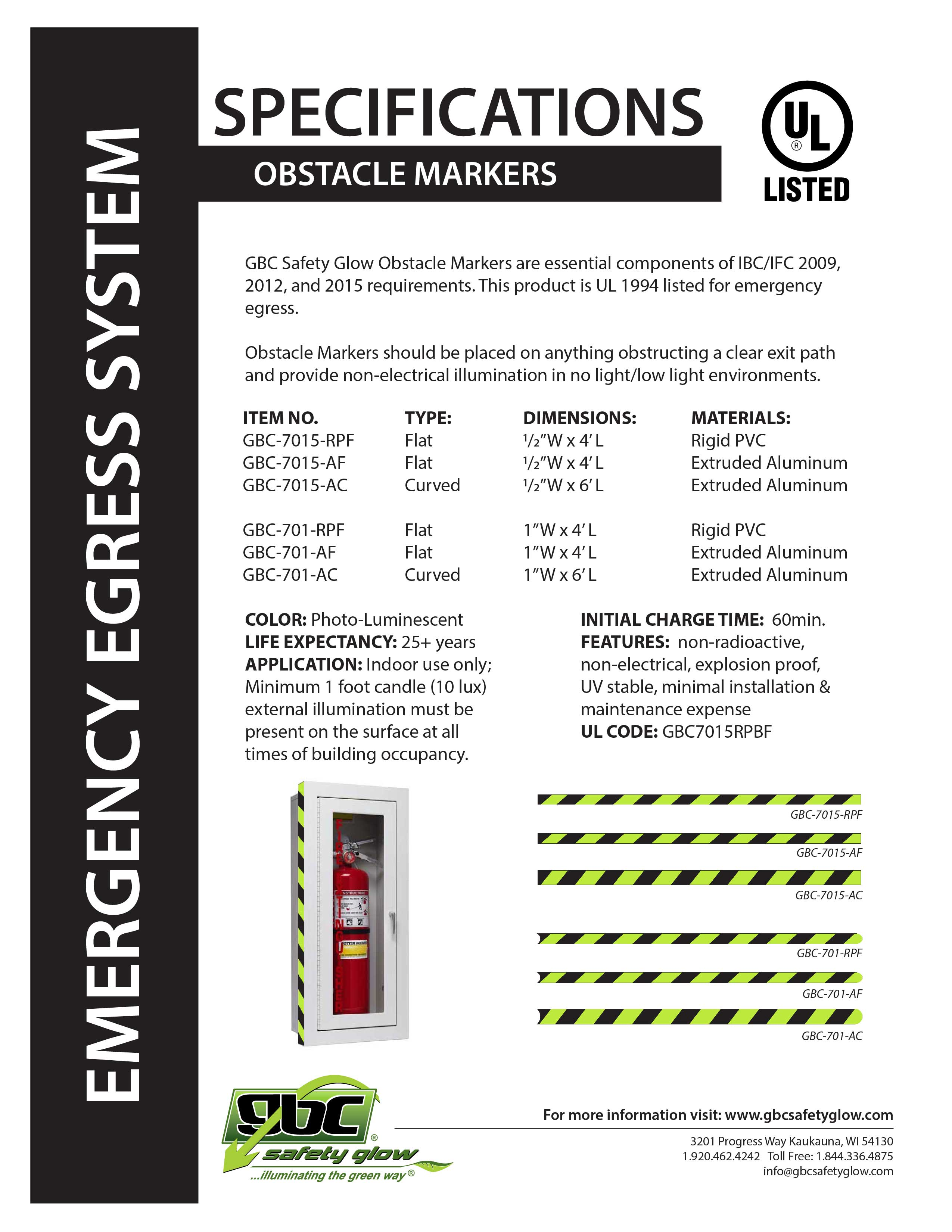 Obstacle Markers