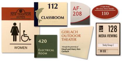 Custom Decorative ADA Signage